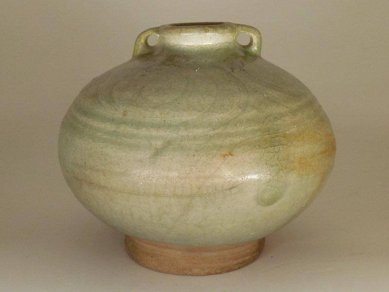 Thai Celadon Jar