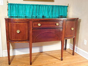Antique Bench Made George III Style Mahogany Sideboard