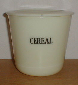 McKee Custard 48 oz. round Cereal Canister