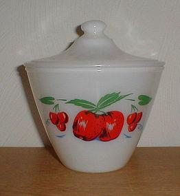 Apple Grease Jar