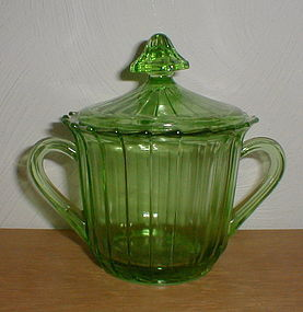 Green Sierra Sugar with Lid