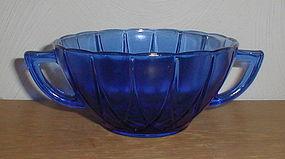 Cobalt Newport Cream Soup Bowls