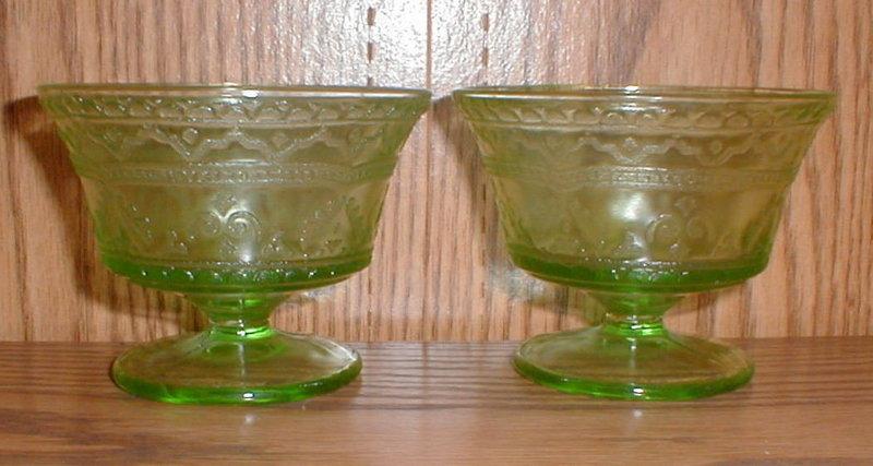 Green PATRICIAN Sherbets