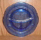 Cobalt ROYAL LACE Grill Plates
