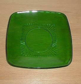 "Forest Green CHARM 6 3/4"" Salad Plates"