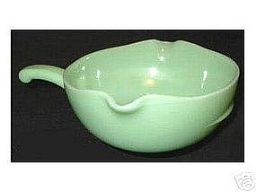 Fire King Jadeite 2 SPOUT SKILLET