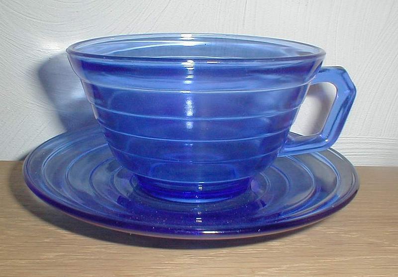 Cobalt MODERNTONE Cups & Saucers