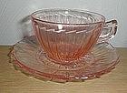 Pink SIERRA Cups & Saucers