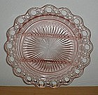 """Pink OLD COLONY Lace Edge 10 1/2"""" 3 Part Relish"""