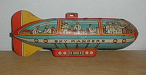 Unique Art SKY RANGERS Zepplin