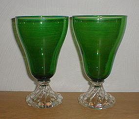 Forest Green Berwick - Inspiration 9 oz. Goblets