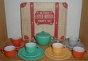 Little Hostess Party Set - Turquoise Tea Pot