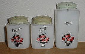 Tipp City BASKET Salt, Pepper & Flour
