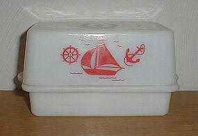 McKee SHIPS 1 lb. Butter Dish
