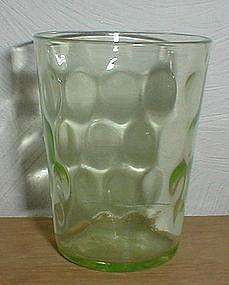 Green THUMBPRINT Shot Glasses