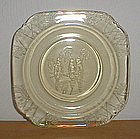 "Amber PARROT 5 3/4"" Sherbet Plates"