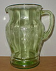 Green CAMEO 56 oz. Water Pitcher