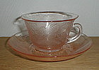 Pink DOGWOOD Cups & Saucers
