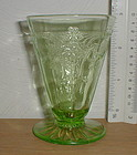 Green CAMEO 3 oz. Footed Juice Tumbler