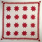 LeMoyne Stars Quilt: Circa 1880