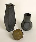 Geometric Tin Forms: Circa 1920