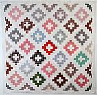 Chimney Sweep Quilt: Circa 1870; Pennsylvania
