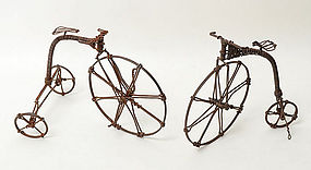 Wire Bicycles: Circa 1920 ; Pennsylvania