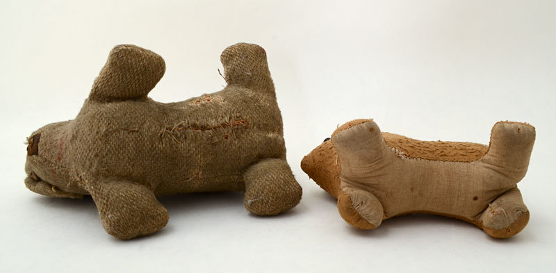 Homemade Amish Toy Dogs