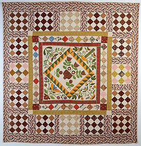 Center Medallion Quilt: Circa 1860; Pennsylvania