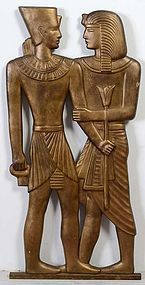 Sculpture of Egyptian Figures
