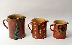 French Jaspe Pottery