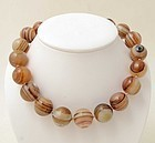 Banded Agate Necklace