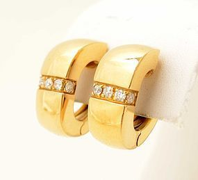 Mauboussin Gold and Diamond Earrings