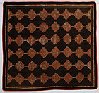 Courthouse Steps Log Cabin Quilt: Ca.1880; Pa.