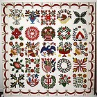Baltimore Album Quilt: Circa 1850