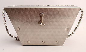 Stainless Steel Purse by Wendy Stevens