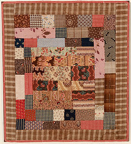 Center Medallion Doll Quilt;Ca. 1880; Pennsylvania