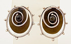 William Spratling Earrings: Circa 1960