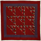 Birds in the Air Quilt: Circa 1880; Pa.