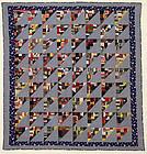 Birds in the Air Quilt: Circa 1920; Pennsylvania