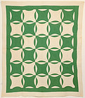 Robbing Peter to Pay Paul Quilt: Ca. 1920; Pa.