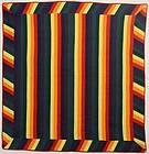 Joseph's Coat Quilt: Circa 1880; Pennsylvania