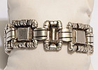 William Spratling Ornamented Squares Silver Bracelet