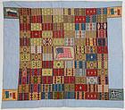 Cigar Flannels Patriotic Quilt: Circa 1915; Pennsylvania