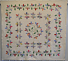 Autumn Leaves Quilt: Circa 1930; Pennsylvania