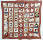 Album Patch Quilt: Circa 1860; Maryland