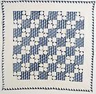 Four Patch Quilt: Circa 1850; Pennsylvania