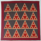 Sugarloaf Quilt: Circa 1890; Pennsylvania
