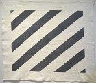 Straight Furrows Quilt: Circa 1850; Pennsylvania