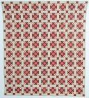 Double Nine Patch Quilt: Circa 1880; Pennsylvania